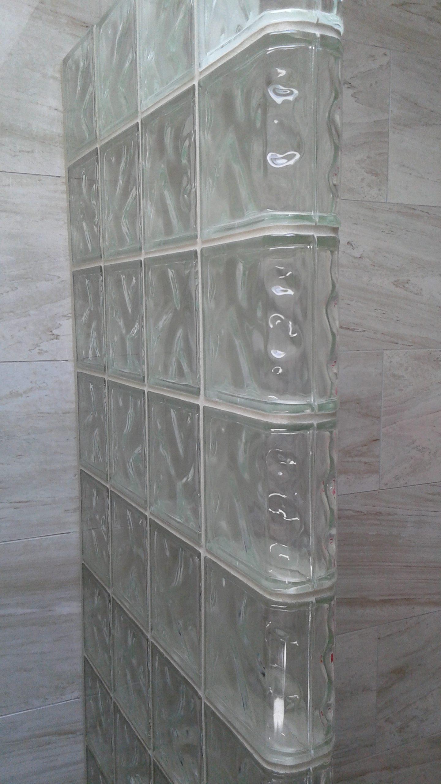Glass Block showers, glass block shower kits