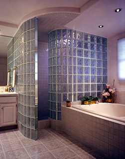 Superieur You Get All The Beauty Of A Custom Built Glass Block Shower U2014 Without The  U201ccustomu201d Hassle.