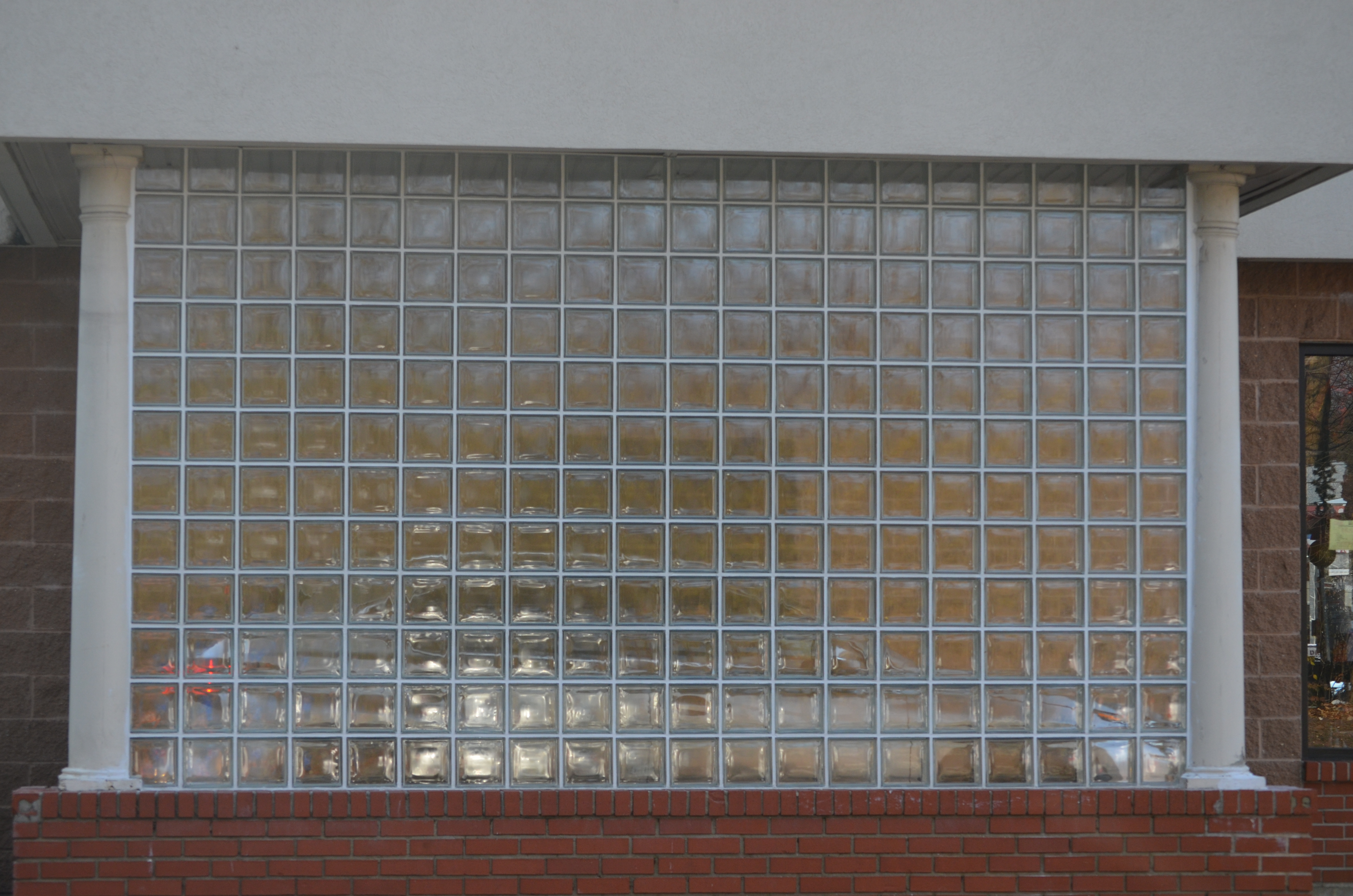 Commercial glass block for Glass block r value