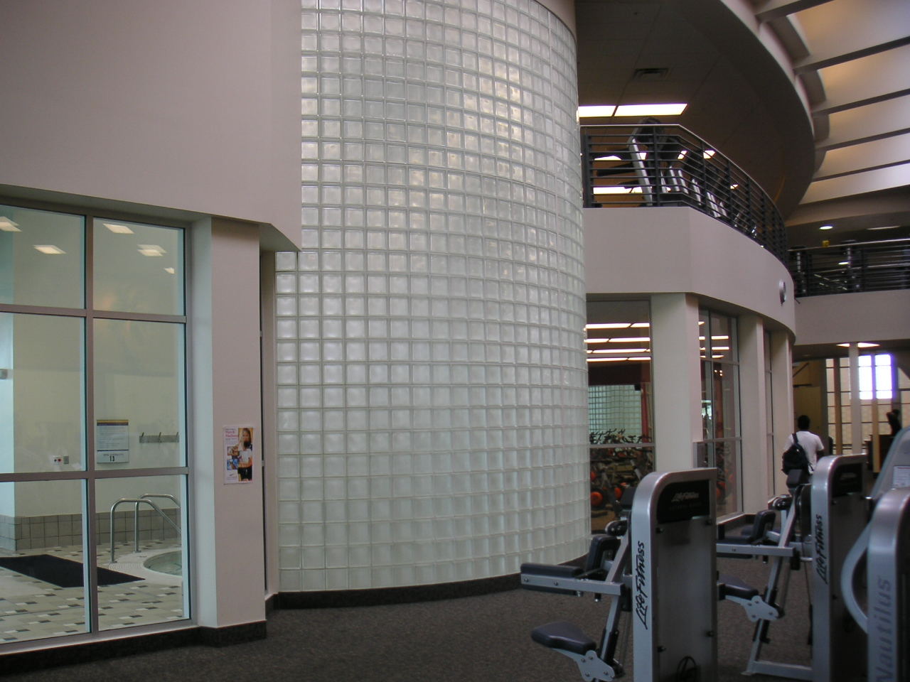glass blocks in commercial use
