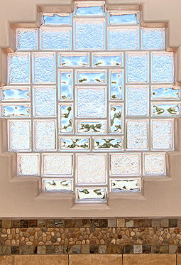 Glass block photo gallery for Glass block window design ideas