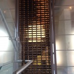 Solid Glass Block Partition