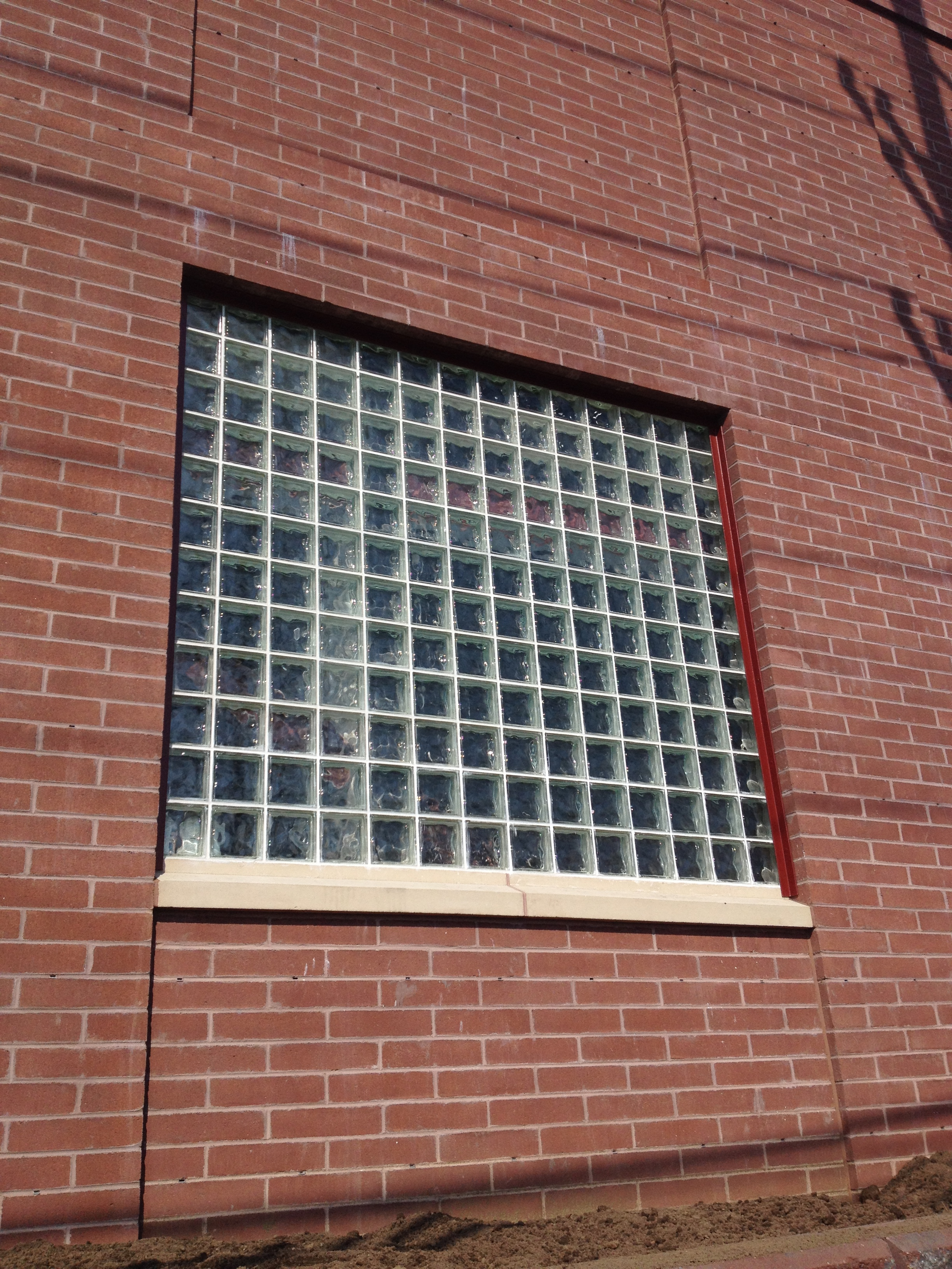 A Block Fire Resistant Glass B...