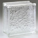 Ice glass block